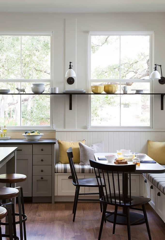 View In Gallery Modern Farmhouse Incorporates Traditional Details Eclectic Lifestyle 3