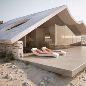 Desert Homes Wrapped in Sand