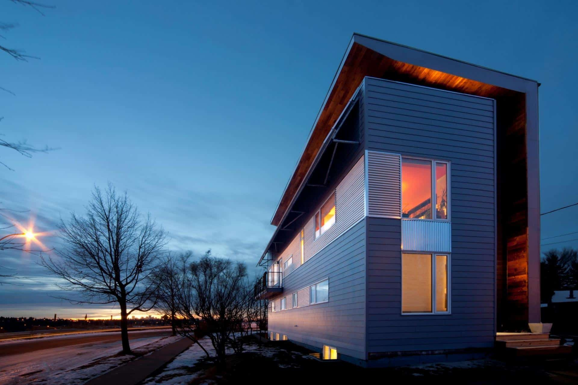 Low Energy Home Working Towards Net Zero Rating