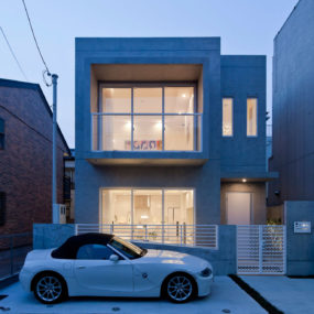 Compact Zen Home Full of Hidden Meanings