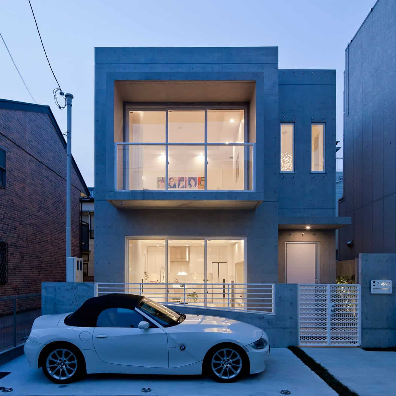 Compact zen home full of hidden meanings for Modern compact home designs