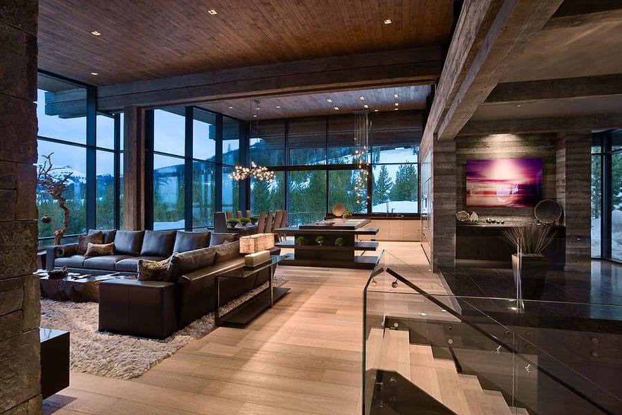 View In Gallery Luxury Residence Ski Resort Natural Elements 12 Social.