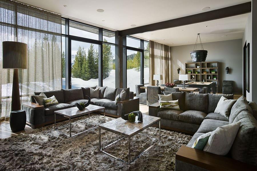 View in gallery luxury residence ski resort natural elements 16 family Luxury Ski Residence