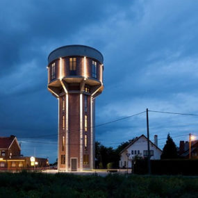 Water Tower Converted to Private Residence