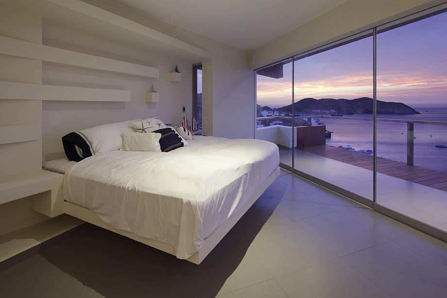 steep rock cliff exposed inside ocean view home 11 bedroom