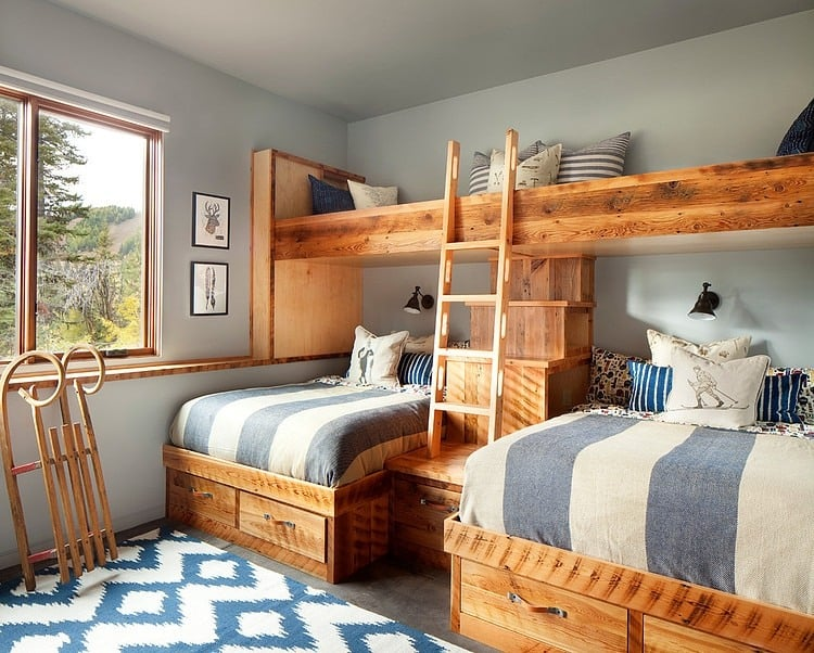 Popular View in gallery modern ski chalet beautiful rustic interiors bunkbeds