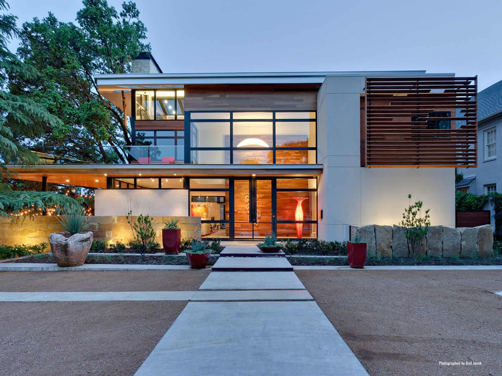LEED Gold Certified House with Bohemian Style