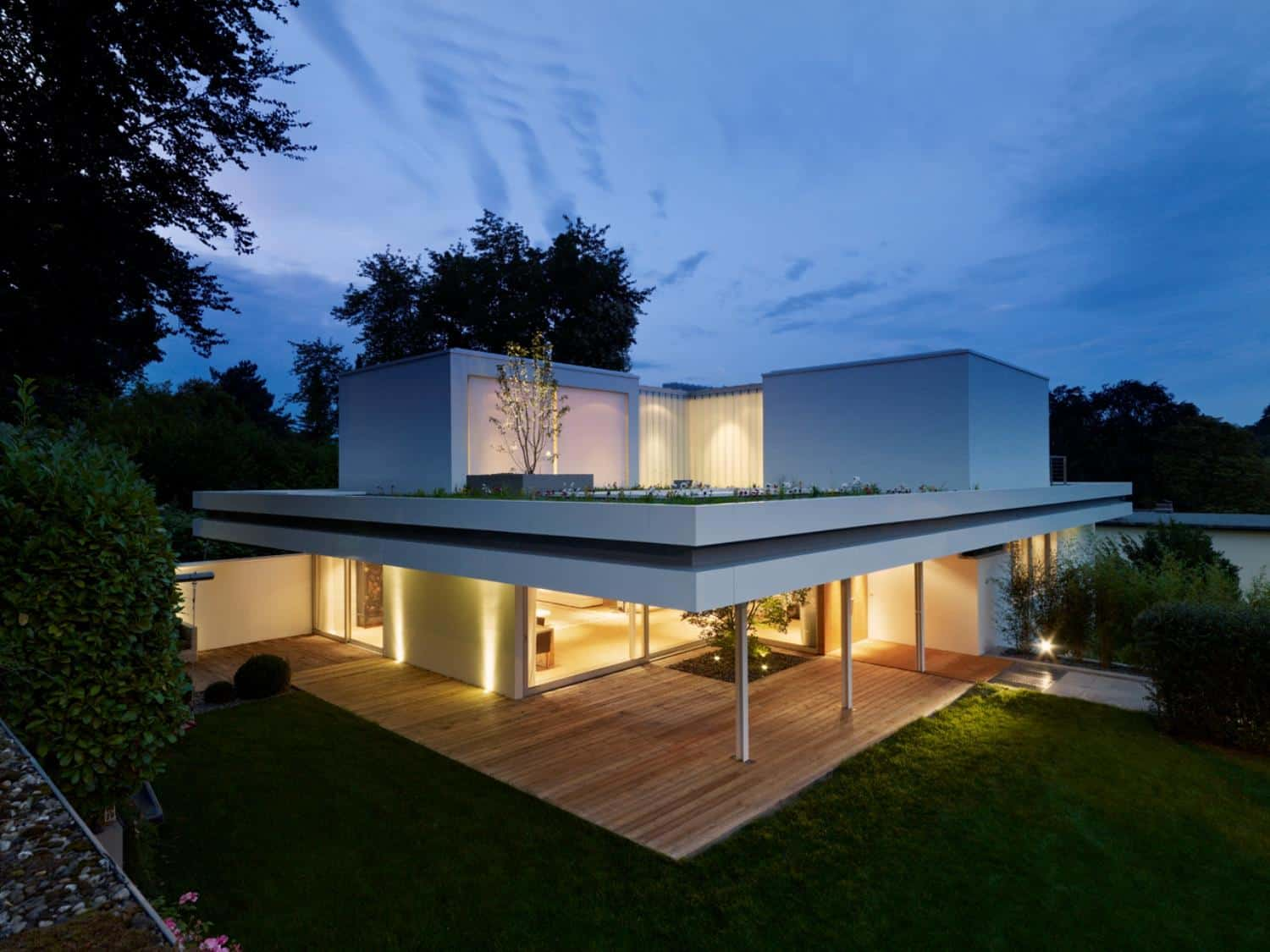 Contemporary Renovation and Additon to 60's Bungalow
