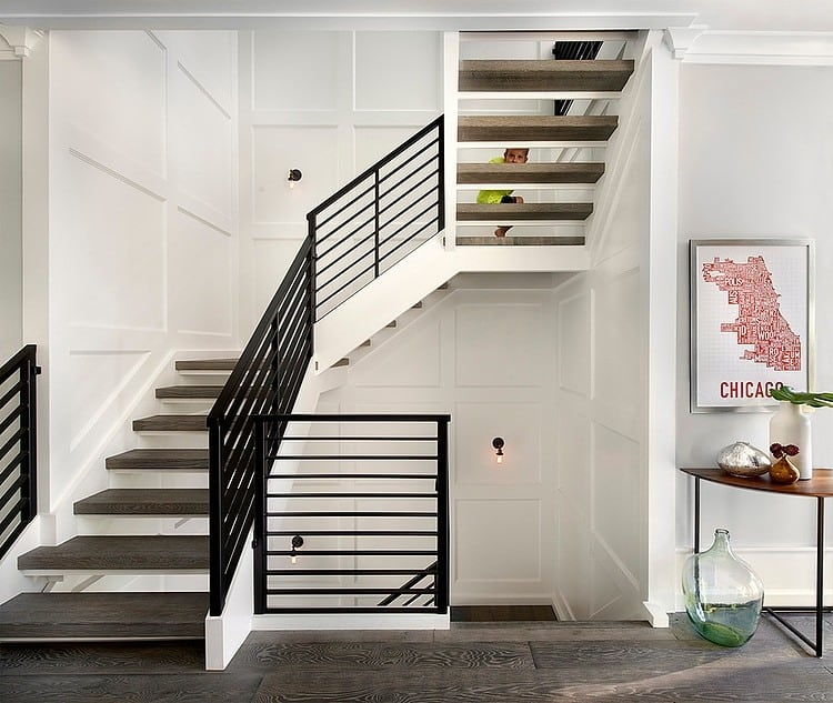 Unique And Creative Staircase Designs For Modern Homes: Modern Traditional Home Design With Many Unusual