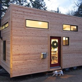 Tiny House on Wheels by Andrew & Gabriella Morrison