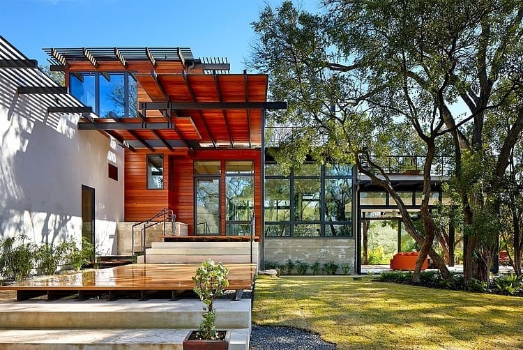 Innovative And Sustainable Single Family House