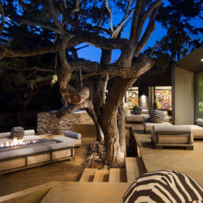 Updated Mid Century Home with Private 2 Tier Courtyard