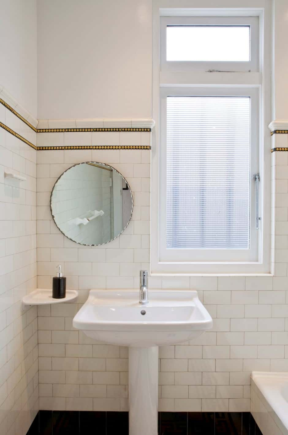 Contemporary Renovation Of A Timeworn House - Bathroom renovation time