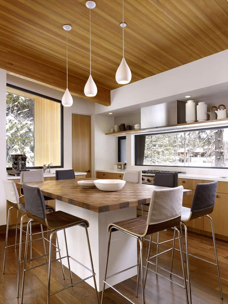 View In Gallery Modern Mountain Home Railroad Avalanche Shed Design Muse