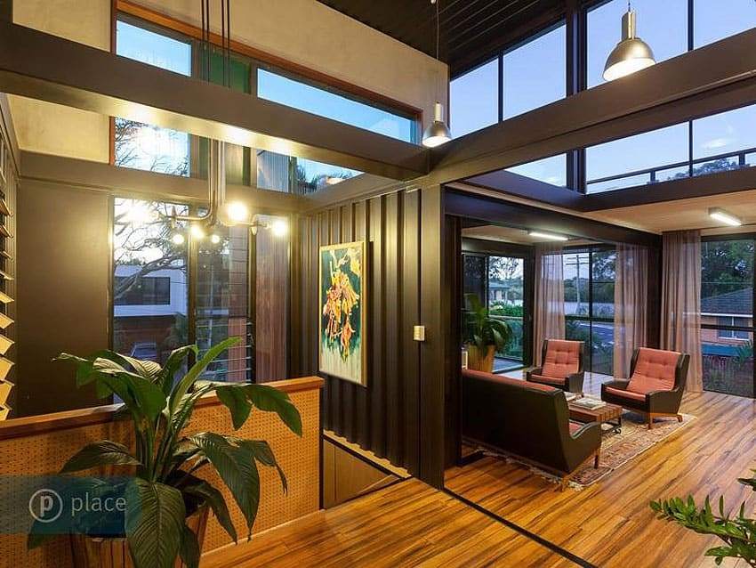 Artsy 3 Storey Home Built From 31 Shipping Containers