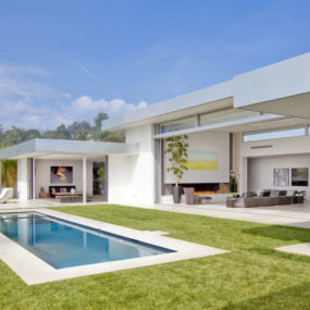 70s Home Transformed into Modern Beverly Hills Masterpiece