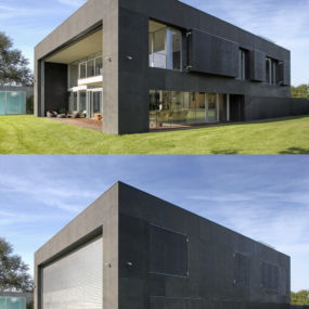 Safe House: Amazing Home Closes into Solid Concrete Cube
