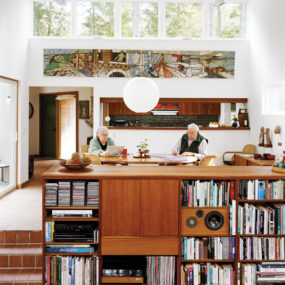 Architect's Own Home Filled with an Undeniable Sense of Coziness