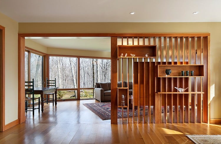 Foyer Divider Ideas : Existing kiddie treehouse is muse for rancher expansion