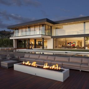 Los Angeles Homes with a View by McClean Design