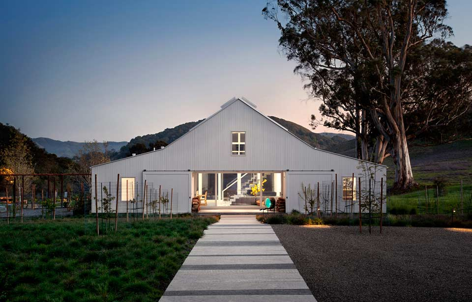 Mega Modern LEED Certified Barn Style House on 160-Acres