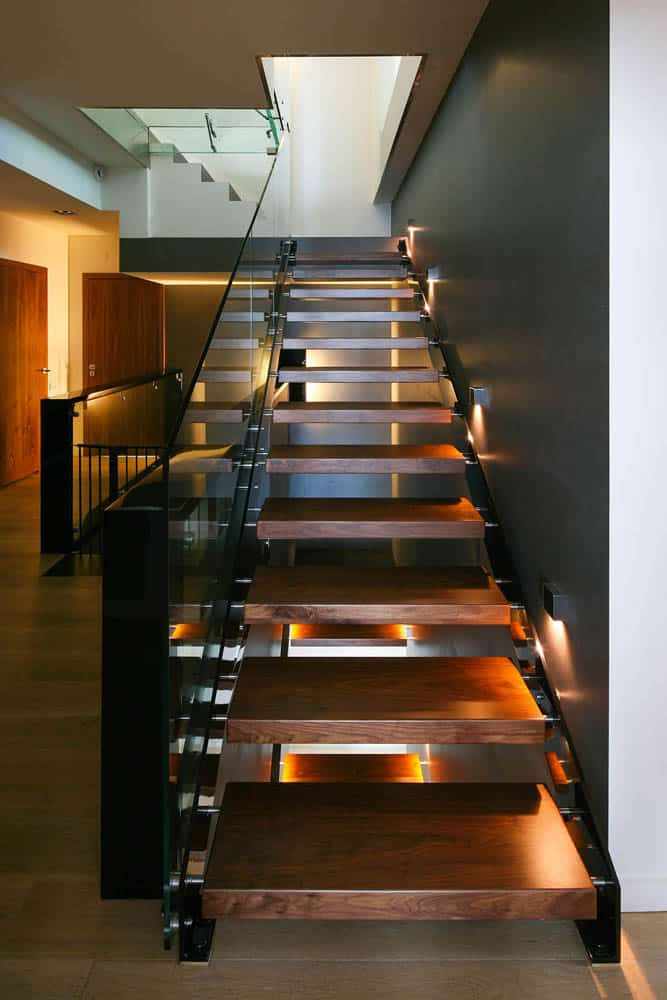 View In Gallery Glass Elevator Multiple Levels Slope House 28 Stairs.