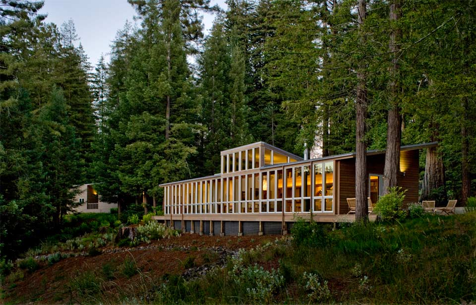 Serene Forest Home Offers Work Live Play Lifestyle