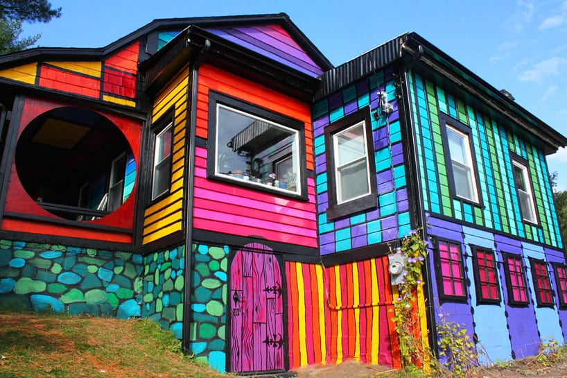 View In Gallery Artist Kat Osullivan Home Psychedelic Street Art 5