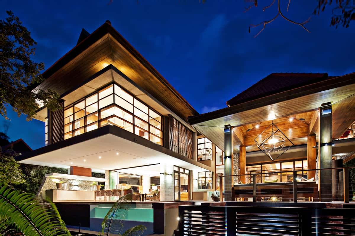 Zen dream home with japanese influences by metropole architects Modern dream home design ideas