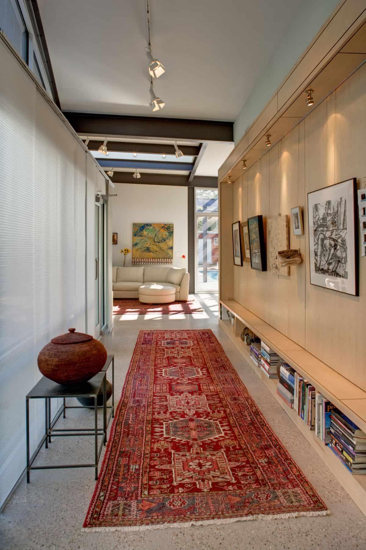 Stylishly Simple Modern One Story House Design   Modern ...