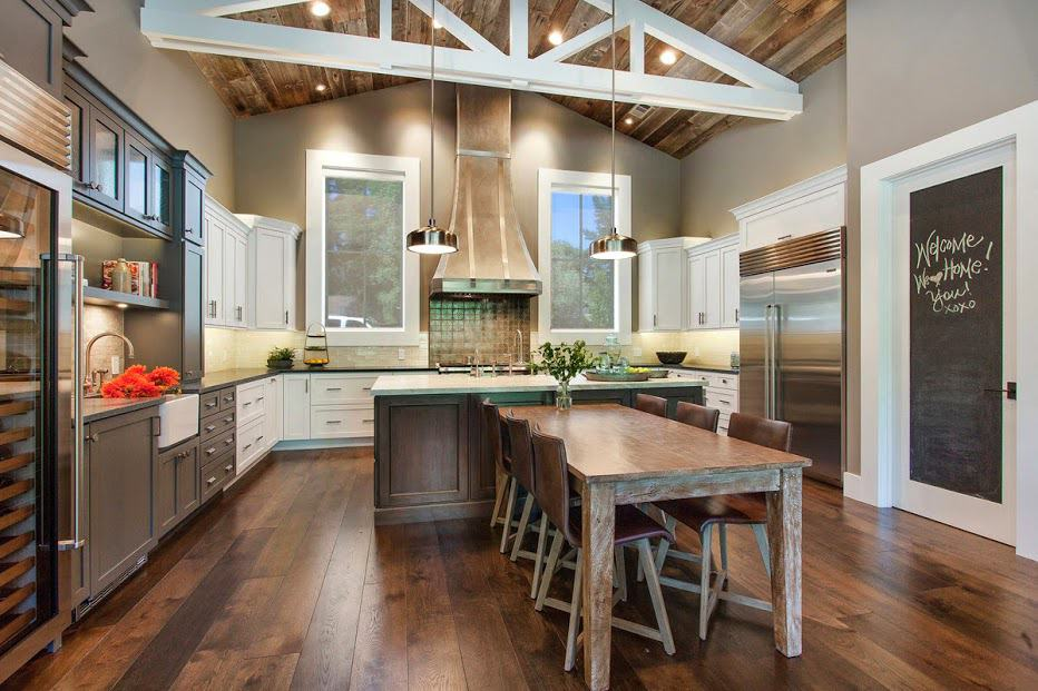 View In Gallery Farmhouse Style Ranch Home Outdoor Living 11