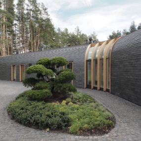 Very Unusual and Very Cool Triangular House in Lithuania