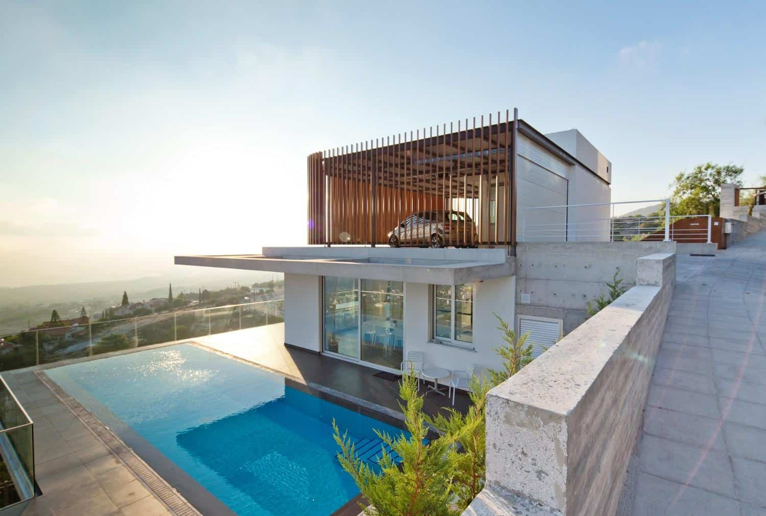 Marvelous Modern House Plans With Rooftop Pool Part - 14: Will You Move To Cyprus To Have A House Like This?