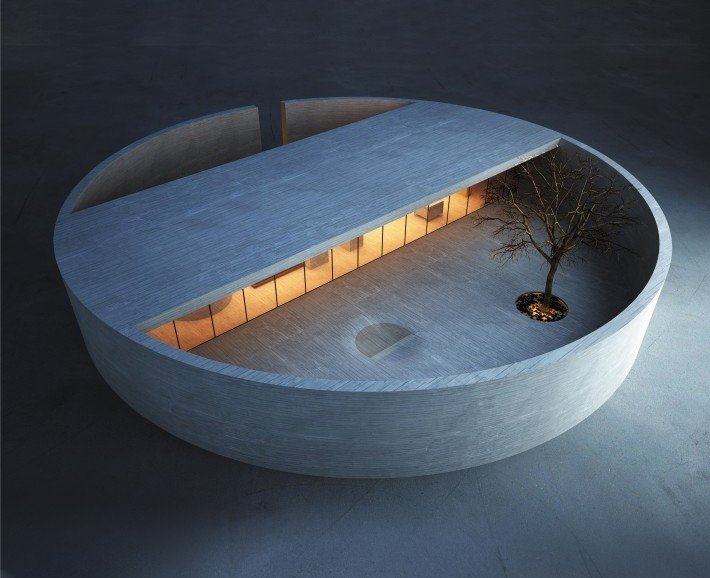 Industrial Design Ring House is Pure Zen