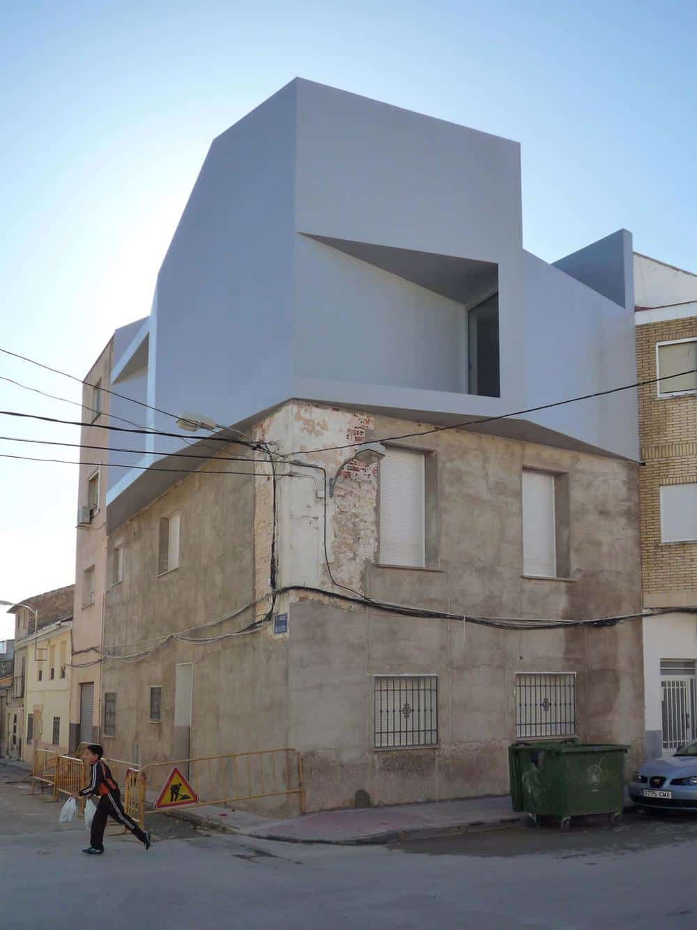 Son Builds House on top of his Mother's Home
