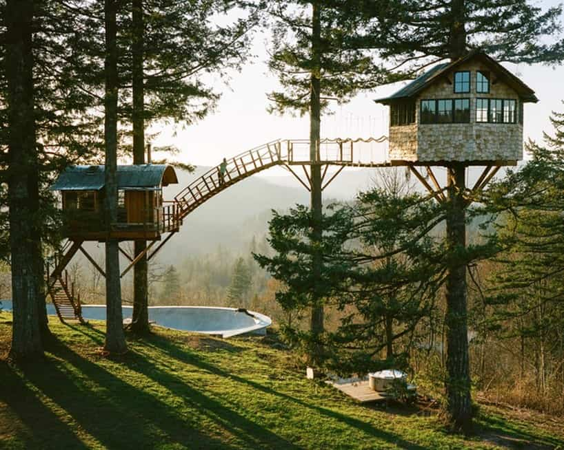 Multi Platform Treehouse Comes With Multi Fun