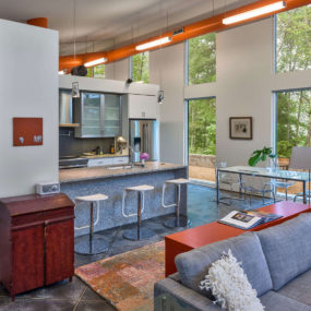 Innovative Architecture Uses HVAC Ductwork as Decor Element