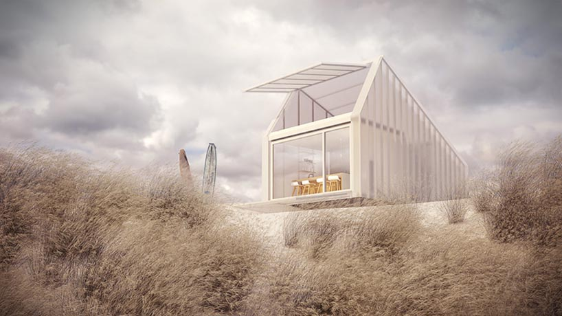 This Compact Prefab Is Made From Polycarbonate Allowing