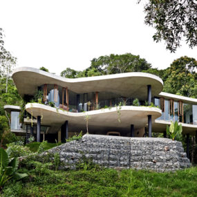 Architect and Interior Designer Build Their Fantasy Home in Tropical Paradise