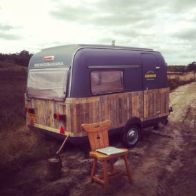 The First Off The Grid Mobile Forest Office