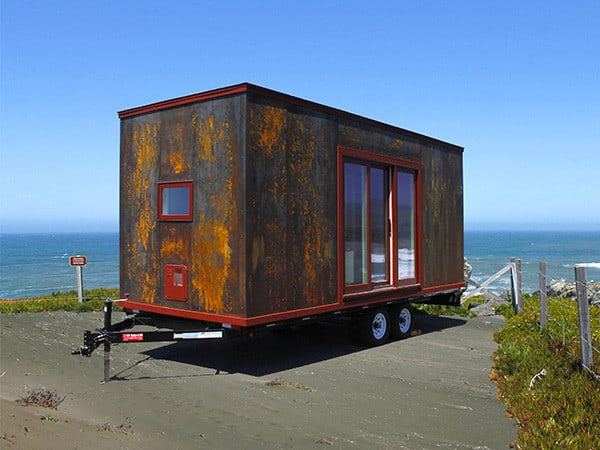 This Tiny Home on Wheels by Tumbleweed is Clad in Steel