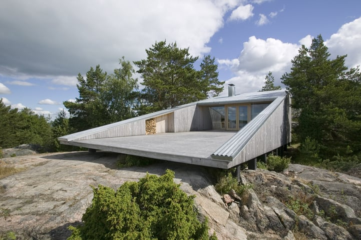 5 Geometric House Designs With Super Sophisticated Wood Architecture