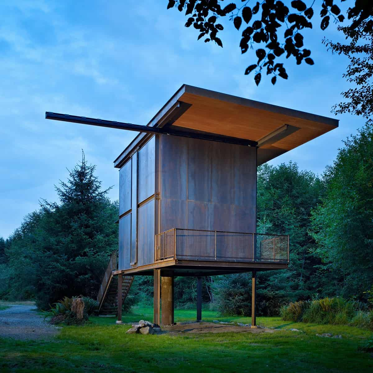 Tiny Home Designs: 7 Clever Ideas For A Secure Remote Cabin