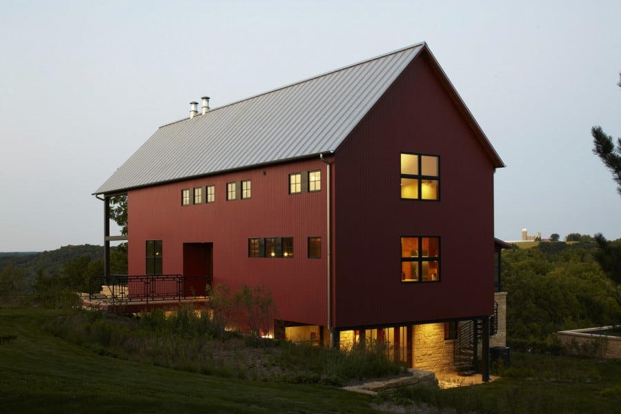 beautiful house barns metal style barn pole best ideas houses plans of