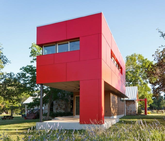 Red Exterior Homes: Paint the Town