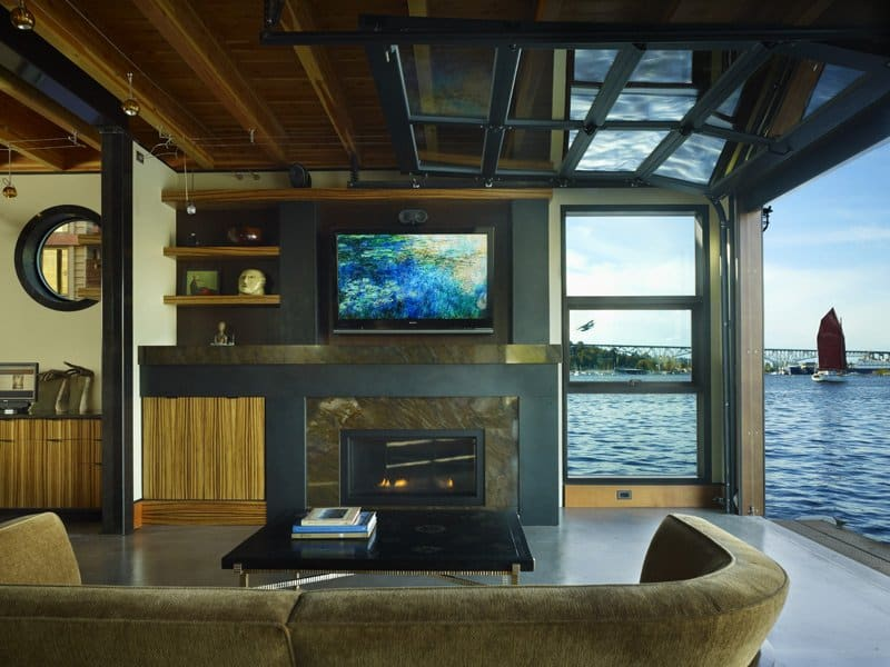 View In Gallery Floating Home Interiors Lake Union Long View