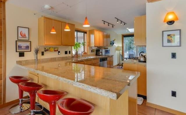 View In Gallery Floating Homes Interiors Oregon Kitchen
