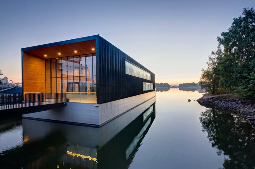 Floating house architecture 12 wow designs on the water R house architecture research office