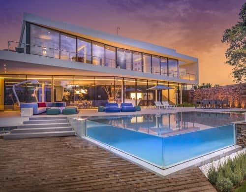Modern Mediterranean Villa Filled with Creatively Unique Details