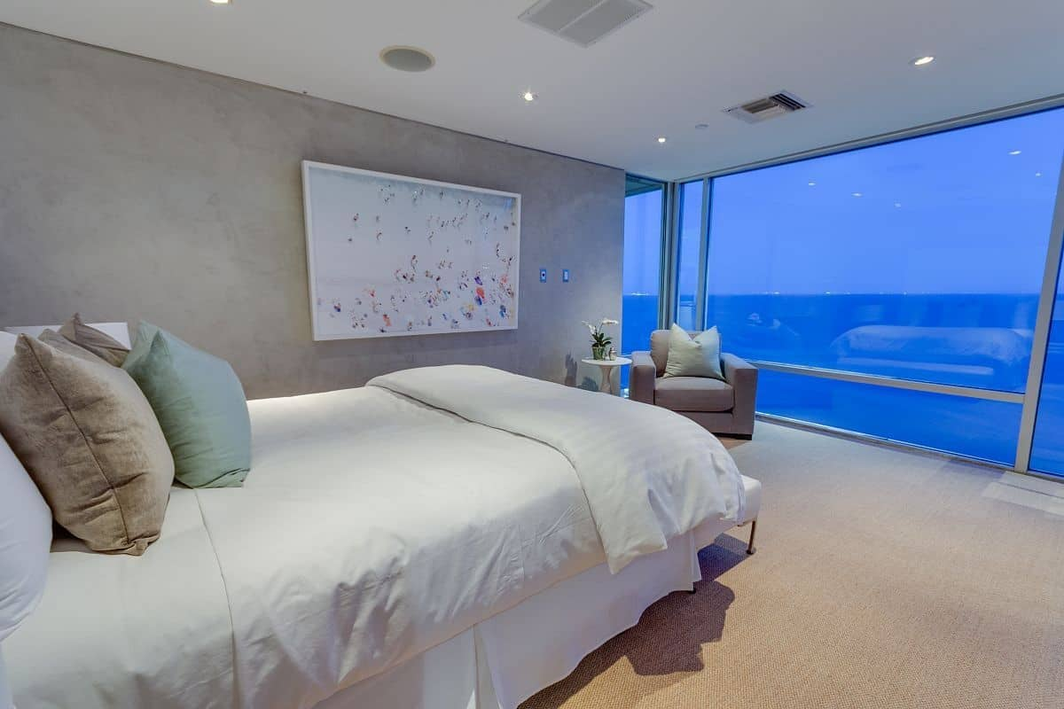 beach house bedrooms. View in gallery  Modern Malibu Beach House Rooms with a